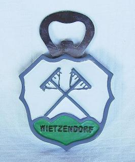 Flaschenöffner Wietzendorf Wappen mit Magnet 4 Stk. - Vorschau 2