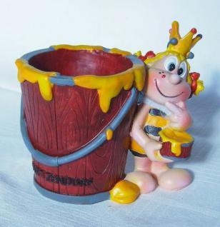 Biene Wietzendorf Maskottchen Becher Vase Souvenir Nr.2