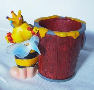 biene wietzendorf maskottchen becher vase souvenir nr 2 kaufen bei dandibo ambiente gmbh. Black Bedroom Furniture Sets. Home Design Ideas