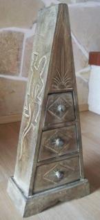"""Pyramide - Kommode mit 3 Schubladen """"Antique"""" 60cm - Vorschau 1"""