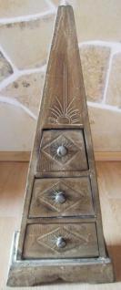 """Pyramide - Kommode mit 3 Schubladen """"Antique"""" 60cm - Vorschau 2"""