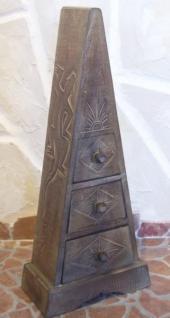 """Pyramide - Kommode mit 3 Schubladen """"Antique"""" 60cm - Vorschau 5"""