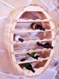 weinregal weinfass wandregal zum aufh ngen f r 24 flaschen na kaufen bei dandibo ambiente. Black Bedroom Furniture Sets. Home Design Ideas