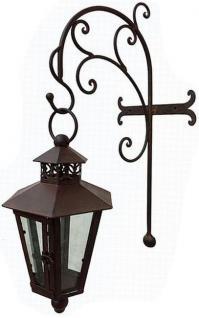 Wandlaterne Piola 54cm mit Halter 079884 Windlicht Laterne mit Haken aus Metall