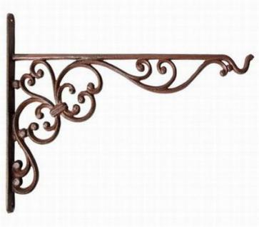 wandhaken 25cm s haken bph29 wandkonsole f r blumenampel aus gusseisen metall kaufen bei. Black Bedroom Furniture Sets. Home Design Ideas