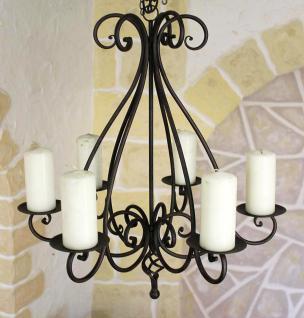 Kronleuchter 95230 Kerzenhalter H-60cm Kerzenständer Hängeleuchter aus Metall