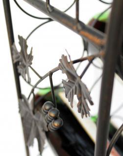Weinregal JD130665 aus Metall 100cm Flaschenregal Flaschenhalter Flaschenständer - Vorschau 3