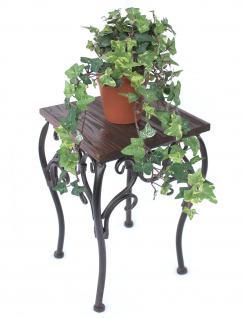 Blumenhocker HX12593 Blumenständer 34cm Eckig Blumensäule Tisch Beistelltisch - Vorschau 4
