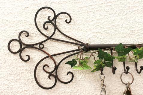 Schlüsselhänger Hakenleiste 101852 Schlüsselleiste 56cm Wandhaken Schlüsselbrett - Vorschau 2