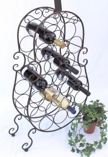 weinregal cello aus metall 100136 flaschenhalter 134cm. Black Bedroom Furniture Sets. Home Design Ideas