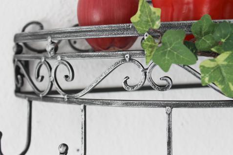 wandregal 09919 wandkonsole 50cm k chenregal aus metall topfh nger kr uterregal kaufen bei. Black Bedroom Furniture Sets. Home Design Ideas