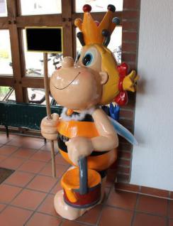 Honigbiene 152cm Werbeträger Biene Werbung Figur aus Kunststoff Kunstharz Honig - Vorschau 2