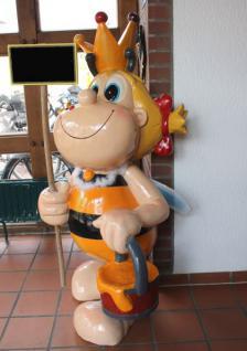 Honigbiene 152cm Werbeträger Biene Werbung Figur aus Kunststoff Kunstharz Honig - Vorschau 5