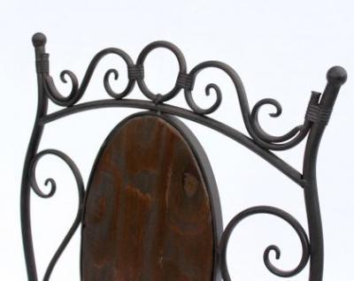 stuhl gartenstuhl hx12581 bistrostuhl 70cm klappstuhl metall und holz kaufen bei dandibo. Black Bedroom Furniture Sets. Home Design Ideas