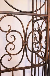 rosenbogen mit tor pforte 120853 aus metall schmiedeeisen 265x190cm rankhilfe kaufen bei. Black Bedroom Furniture Sets. Home Design Ideas