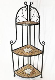 eckregal mosaik merano 12005 b cherregal 114cm aus metall schmiedeeisen regal kaufen bei. Black Bedroom Furniture Sets. Home Design Ideas
