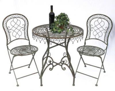 Sitzgruppe Malega 12184-85 Gartentisch + 2 Stk. Gartenstuhl Tisch Gartengarnitur