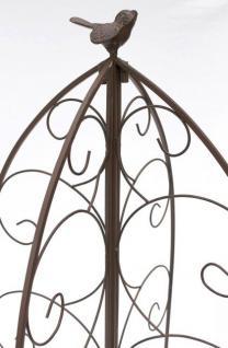 rankhilfe 120005 faltbar rankgitter aus metall h 160cm d. Black Bedroom Furniture Sets. Home Design Ideas