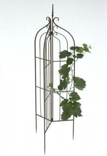 rankhilfe 120033 faltbar rankgitter aus metall h 132cm d. Black Bedroom Furniture Sets. Home Design Ideas