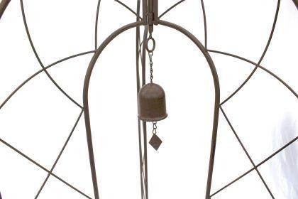 Rankhilfe mit Glocke 120264 faltbar Rankgitter H-172cm D-70cm Kletterhilfe Zaun - Vorschau 5