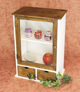 schrank minivitrine 12024 k chenschrank regal 50cm shabby k chenregal vitrine kaufen bei. Black Bedroom Furniture Sets. Home Design Ideas