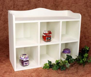 setzkasten wandregal 12020 regal 40cm vintage shabby landhaus k chenregal wei kaufen bei. Black Bedroom Furniture Sets. Home Design Ideas