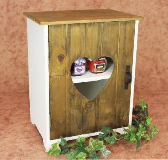 schrank minikommode 12021 k chenschrank regal 35cm shabby k chenregal mit herz kaufen bei. Black Bedroom Furniture Sets. Home Design Ideas