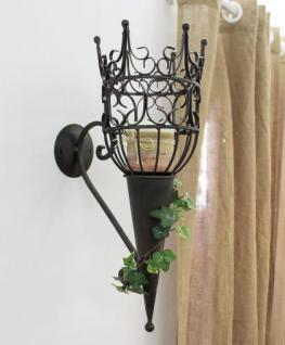 wandleuchter castle 92066 wandkerzenhalter aus metall kerzenhalter 48cm antik kaufen bei. Black Bedroom Furniture Sets. Home Design Ideas