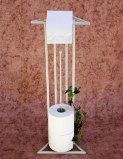 Designer Art Toilettenrollenständer Luxx White Toilettenpapierhalter Toilettenrollenhalter