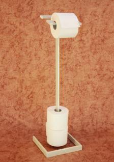 Toilettenrollenständer Gala Weiß Toilettenpapierhalter Toilettenrollenhalter