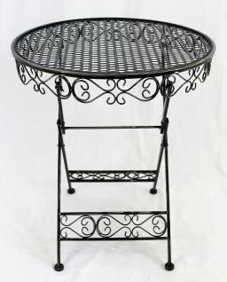 Tisch Gartentisch Sevilla HX12620 Bistrotisch D-65cm Beistelltisch Klapptisch - Vorschau 4