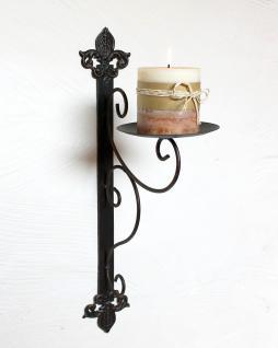 wandkerzenhalter 12111 kerzenhalter aus metall wandleuchter 47cm kerzenleuchter kaufen bei. Black Bedroom Furniture Sets. Home Design Ideas