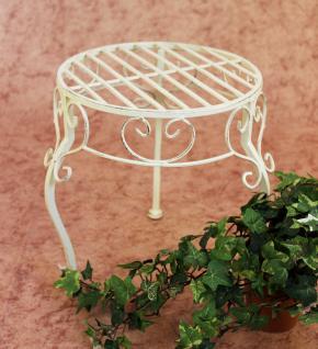 Blumenhocker Romance 30cm Blumenständer 20218 Pflanzenständer Beistelltisch Weiß