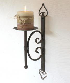 wandkerzenhalter 12110 kerzenhalter aus metall wandleuchter 41cm kerzenleuchter kaufen bei. Black Bedroom Furniture Sets. Home Design Ideas