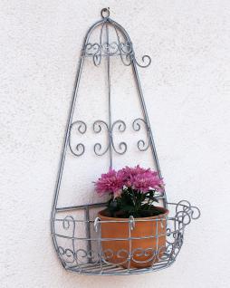 Wandblumenhalter Romance 60cm Blumenständer 20313 Metall Wandregal Blumenregal - Vorschau 1