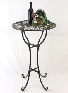 stehtisch aus metall 20832 tisch h 105cm d 65cm. Black Bedroom Furniture Sets. Home Design Ideas
