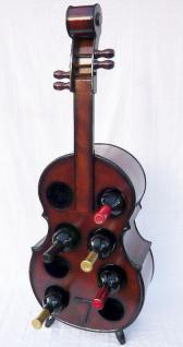 Weinregal Flaschenregal Flaschenständer Cello aus Holz - Vorschau 4