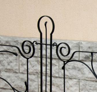 Designer gartenzaun dekor zaunelement 90cm zaun metall - Designer gartenzaun ...
