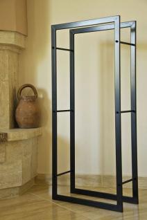Kaminholzregal kaminholzst nder 100cm holzkorb for Portalegna da interno ikea