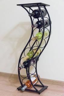 Weinregal Blumensäule Elegance 80cm Flaschenständer Flaschenhalter Blumenständer - Vorschau 1