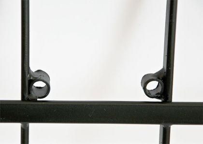 weinregal dies 116cm aus metall f r 10 flaschen flaschenst nder wandregal kaufen bei dandibo. Black Bedroom Furniture Sets. Home Design Ideas