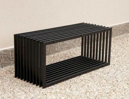 bank d stil modern gartenbank 11671 sitzbank 100cm aus. Black Bedroom Furniture Sets. Home Design Ideas
