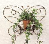 Wandtopfhalter Art.163 Schmetterling 50cm Blumenständer Wandhalter Blumentopfhalter