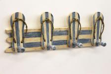 Garderobe Sandalen 2607 Wandgarderobe 45cm Kleiderhaken Handtuchhaken Haken