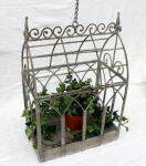 Hängeregal Terrarium aus Metall 77517 Blumenständer Blumenregal Blumenampel 47cm