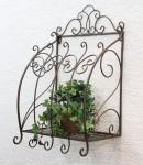 Wandblumenhalter Malega S 54cm Blumenständer 121383 Metall Wandregal Blumenregal