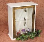 Wandregal Schlüsselkasten 12045 Regal 42cm Vintage Shabby Landhaus Küchenregal