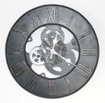 Wanduhr Zahnrad Uhr Loft aus Metall 84605 D-39cm Designuhr Vintage Shabby