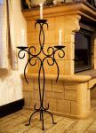Kerzenständer Artus 100cm Schmiedeeisen 21216 Kerzenleuchter Kerzenhalter Metall
