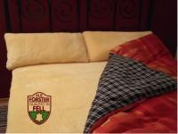 FÖRSTER FELL Lammfellunterbett Betteinlage Lammfell Unterbett 100x200 cm Bettfell